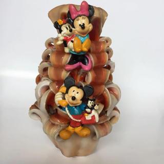 ディズニー(Disney)のキャンドル 大きめ レア ミッキー ミニー ディズニー グアム サイパン 置物(キャンドル)