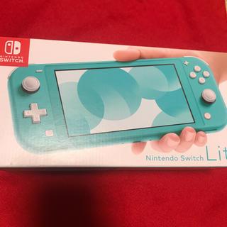 ニンテンドースイッチ(Nintendo Switch)の任天堂 スイッチ ライト ターコイズ 新品(携帯用ゲーム機本体)
