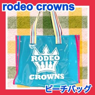 ロデオクラウンズ(RODEO CROWNS)のロデオクラウンズ*ビーチバッグ トートバッグ(トートバッグ)