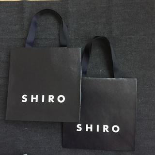 シロ(shiro)のSHIRO (ショップ袋)
