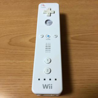 ウィー(Wii)のWiiリモコン 白(その他)