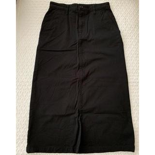 ムジルシリョウヒン(MUJI (無印良品))の本日限定価格!【無印良品】ロングタイトスカート 黒(ロングスカート)