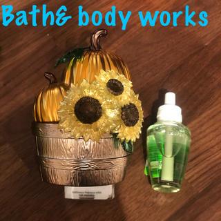 Bath & Body Works - ライトなし✨ひまわりかぼちゃウォルプラグ本体&リフィル1個(バスアンドボディ)