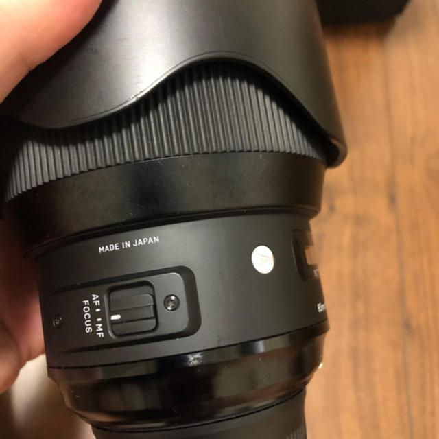 SIGMA(シグマ)の本日のみ SIGMA art 85mm NIKONマウント スマホ/家電/カメラのカメラ(レンズ(単焦点))の商品写真