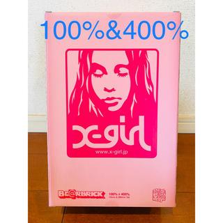 メディコムトイ(MEDICOM TOY)のx-girl be@rbrick 100% & 400% ベアブリック(その他)