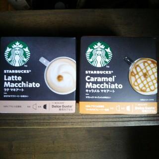 Starbucks Coffee - スタバ ドルチェグスト キャラメルマキアート ラテマキアート