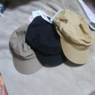 シマムラ(しまむら)のプチプラのあやさんプロデュース。帽子3色まとめ売り(キャスケット)
