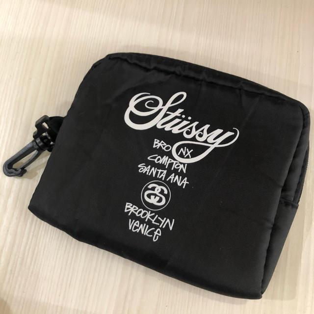 STUSSY(ステューシー)のstussy ポーチ  レディースのファッション小物(ポーチ)の商品写真