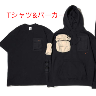 ナイキ(NIKE)のトラビス スコット パーカー Tシャツ Sサイズ(その他)