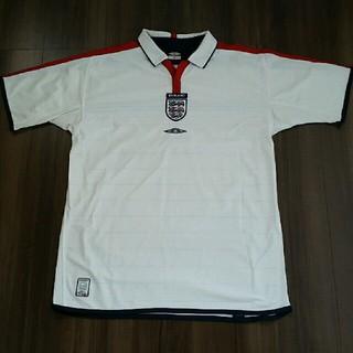 アンブロ(UMBRO)のイングランド代表 サッカーユニフォーム L UMBRO(ウェア)