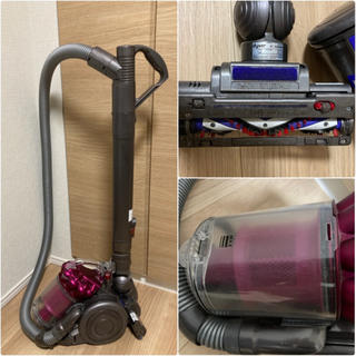 Dyson - 中古品 dyson ダイソン 掃除機 DC26 ピンク カーボンファイバーブラシ