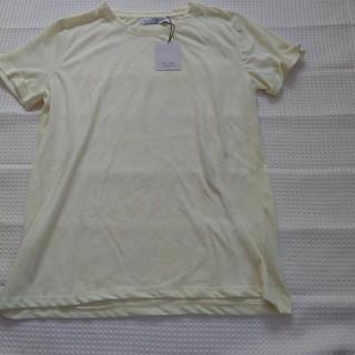 ベルシュカ(Bershka)のベルシュカ イエロー 半袖 Tシャツ M(Tシャツ(半袖/袖なし))