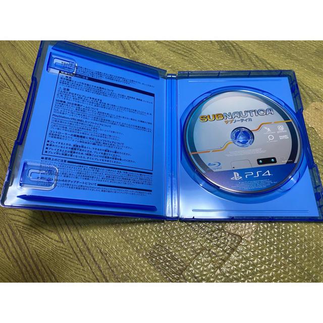 PlayStation4(プレイステーション4)のサブノーティカ エンタメ/ホビーのゲームソフト/ゲーム機本体(家庭用ゲームソフト)の商品写真