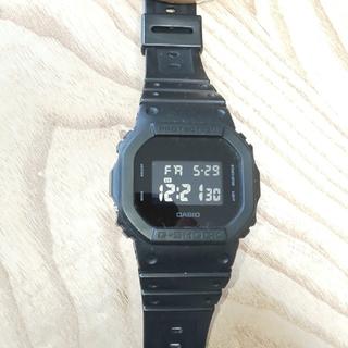 ジーショック(G-SHOCK)のCASIO  G-SHOCK  DW-5600BB(腕時計(デジタル))