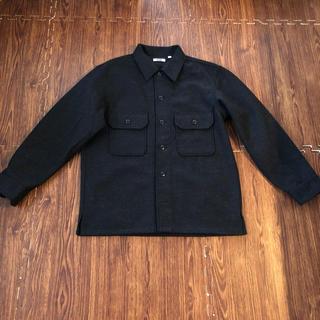 ユニクロ(UNIQLO)のUNIQLO U フリースシャツジャケット X(ブルゾン)