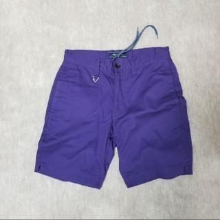 ウィズ(whiz)のwhiz ショートパンツ M whizlimited カラーパンツ 紫(ショートパンツ)