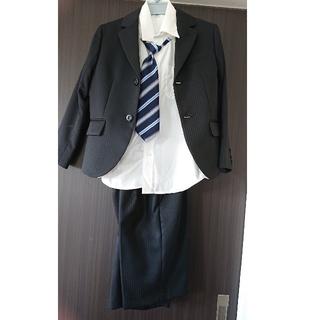 ベルメゾン(ベルメゾン)の【お値下げしました‼️半額です】七五三スーツ シャツ ネクタイ セット 男の子 (ドレス/フォーマル)