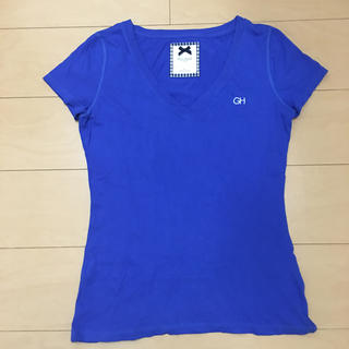 ギリーヒックス(Gilly Hicks)のGILLY HICKS レディース VネックTシャツ(Tシャツ(半袖/袖なし))