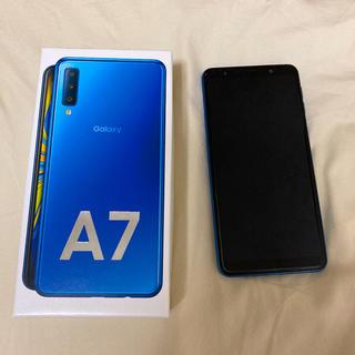 Galaxy - Galaxy A7 ブルー 64 GB