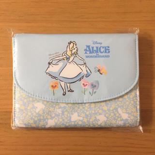 ディズニー(Disney)の新品 ふしぎの国のアリス ジャバラ マルチケース 母子手帳ケース ディズニー(母子手帳ケース)