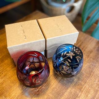 トウヨウササキガラス(東洋佐々木ガラス)のキリコ ペアフリーグラスセット(グラス/カップ)