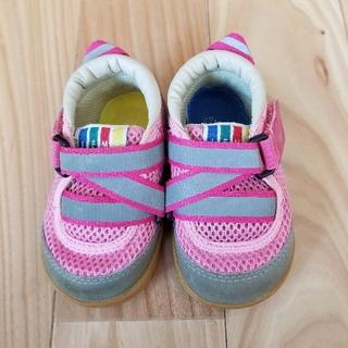 子ども 靴 ピンク 女子 12.5cm(スニーカー)