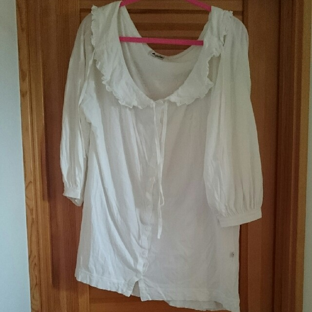 Katie(ケイティー)のkatie MAGNOLIA blouse one-piece2点セット レディースのワンピース(ミニワンピース)の商品写真