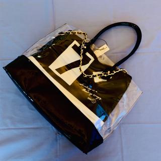 リサーチ(....... RESEARCH)の新品 アーバンリサーチ PVCトートバッグ チェーンバッグ付き RODESKO(トートバッグ)