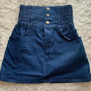 グレイル(GRL)のGRL  デニムスカート Mサイズ(ミニスカート)