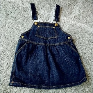 PETIT BATEAU - 美品★PETIT BATEAU ジャンパースカート