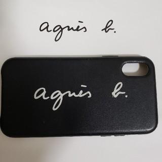 アニエスベー(agnes b.)のiPhoneⅩSカバー アニエスb (iPhoneケース)