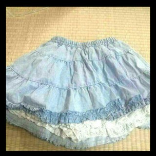 キュロットスカート(ミニスカート)
