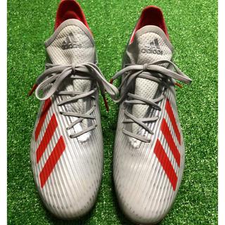 アディダス(adidas)のadidas X 19.2 25.0cm サッカースパイク(サッカー)