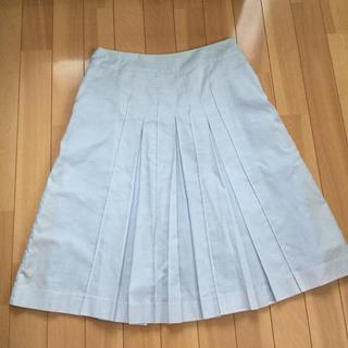 フィールドドリーム(field/dream)のfield/dream 淡い水色のスカート(ひざ丈スカート)