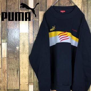 プーマ(PUMA)のプーマ【スウェット/トレーナー】ワンポイント刺繍ロゴ(スウェット)