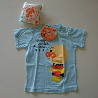 アンパンマン - Tシャツ 半袖 90㎝ アンパンマン ミニタオル付き