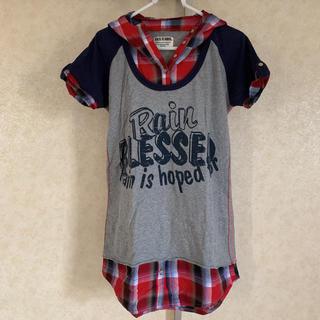 バックナンバー(BACK NUMBER)の美品 バックナンバー フード付Tシャツ(Tシャツ(半袖/袖なし))