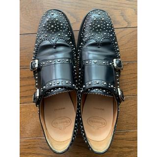 チャーチ(Church's)のチャーチ スタッズ ダブルモンクストラップ  ローファー(ローファー/革靴)