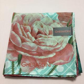 ゲラルディーニ(GHERARDINI)の新品 ゲラルディーニ 絹 スカーフ(ハンカチ)