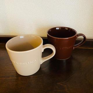ディーンアンドデルーカ(DEAN & DELUCA)のDEAN&DELUCA モーニング マグカップ 2個セット(食器)
