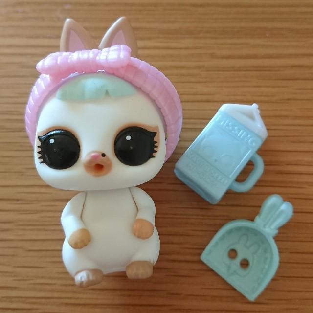 Takara Tomy(タカラトミー)のlol l.o.l スノウバニー ペット スノウ バニー エンタメ/ホビーのおもちゃ/ぬいぐるみ(キャラクターグッズ)の商品写真