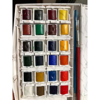 Winsor&Newton(ウィンザー&ニュートン)水彩絵具24色セット(絵の具/ポスターカラー)
