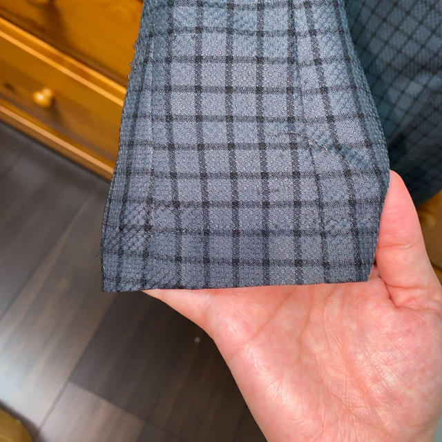 Joie (ファッション)(ジョア)の事務服 ピエ オーバーブラウス 5号 濃いグレー レディースのトップス(シャツ/ブラウス(半袖/袖なし))の商品写真