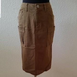 アルカリ(alcali)のアルカリ タイトカーゴスカート(ひざ丈スカート)