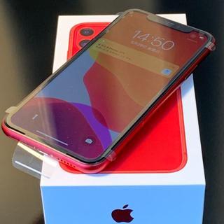 Apple - ☆★新品未使用 iPhone 11 レッド 64GB SIMフリー ☆★