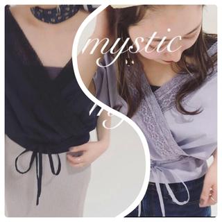 mystic - 新品♡¥5940【mystic】カシュクールレースブラウス