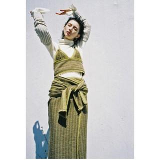 BEAUTY&YOUTH UNITED ARROWS - タン tan 巻きスカート ラップスカート