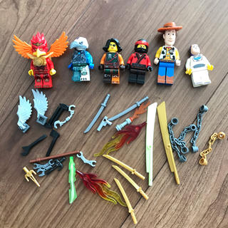 Lego - LEGO⭐︎ミニフィグと武器セット