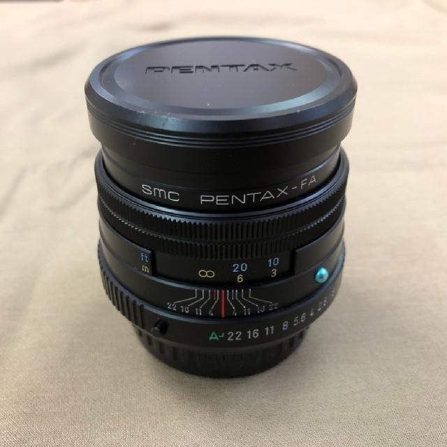PENTAX(ペンタックス)のコメット113様専用 PENTAX FA77F1.8LTD ブラック スマホ/家電/カメラのカメラ(レンズ(単焦点))の商品写真