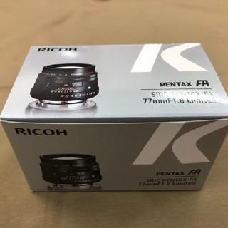 PENTAX - PENTAX FA77F1.8LTD ブラック